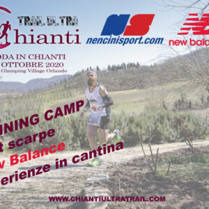 Chianti Running Camp 9-11 Ottobre 2020